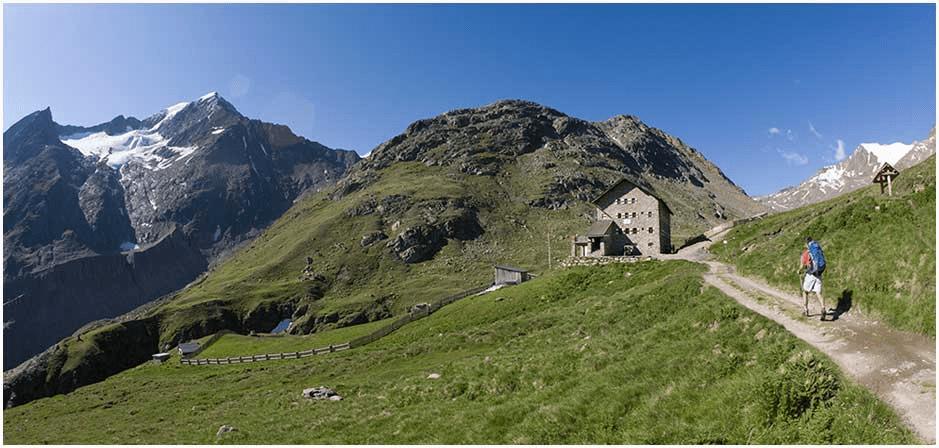 Hiking trail – Martin Busch hütte from Vent