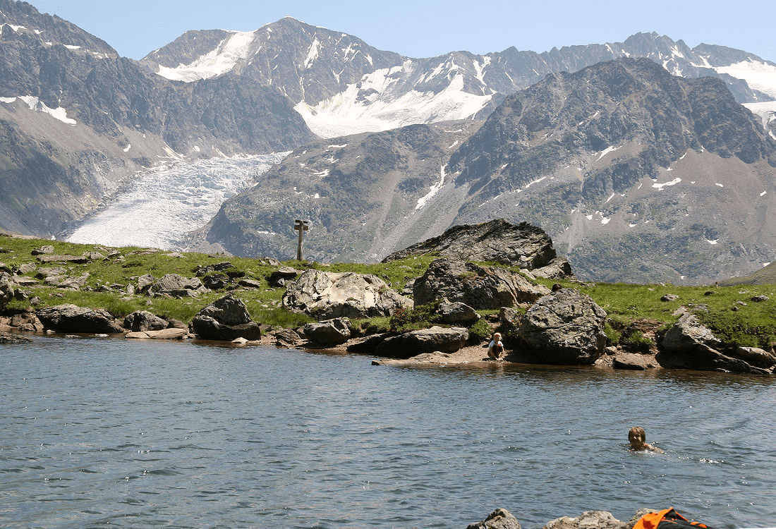 From the Riffl valley to the Seeles lake