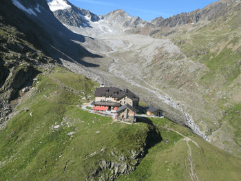 Hiking trail – Taschachhaus starting at Mittelberg
