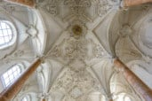 The ceiling of the Hofkirche