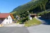 Village Zaunhof Grüble. Folluw the road uphill at the right
