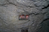 Gallruthstollen; nog 700 meter te gaan