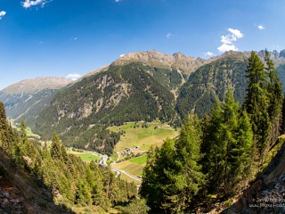View on Bichl in Pitztal